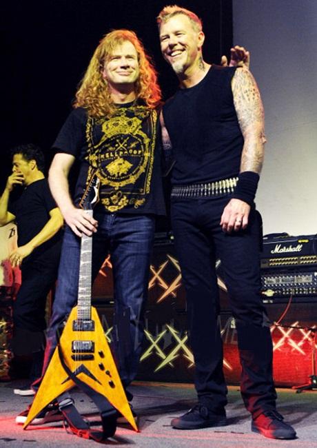Dave Mustaine Net Worth 2